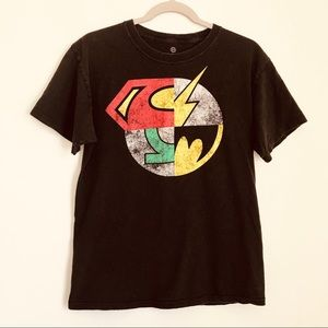 DC Comics Originals Superhero Mashup Graphic Tee